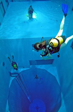 World's deepest pool | Nemo 33 | Brussels | #Belgium #travel