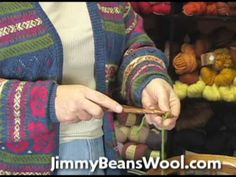 ▶ Knitting Instructional Video - How to do a Picot Cast On. She says it's easy. I don't think it's easy.