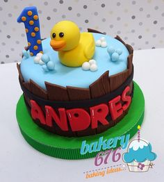 "25 Me gusta, 1 comentarios - Bakery 676 / Guatemala (@bakery676) en Instagram: ""#bakery676cakes #bakery676 #duckcake #birthdaycake"""