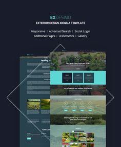 Landscape Design Responsive Joomla Template #63344