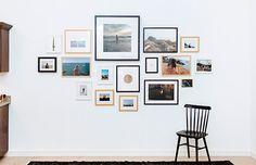Dica para não errar na hora de montar sua parede-galeria