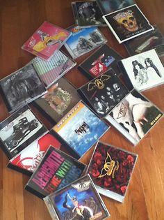 @Aerosmith's albums!! @JoePerry @IamStevenT @joeykramer @THaerosmith and Brad