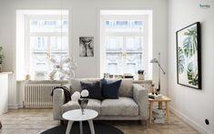 Scandinavian Style Interiors In Green