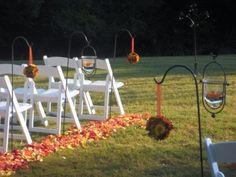 Sensual Fall Outdoor Wedding Ideas For You!