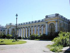The Alexander Palace in Russia