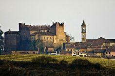 CASTLE AND VILLAGE OF MONTEMEGNO PIEMONTE ITALY