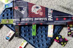 New England Patriots Sensory Lovey Blanket b7b9e53c2
