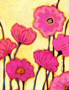 Pink Poppies - Jenlo