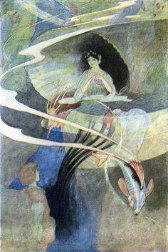 Under the Sea--Charles Robinson found via Finsbry.