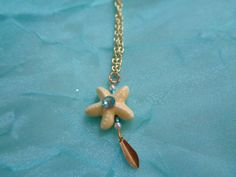 Mermaid Starfish necklace by TinkerGirlBoutique on Etsy