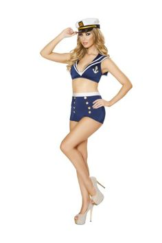 [HALLOWEEN] Roma Costume Women's 3 piece Naughty Navy Brat - $52.48 with FREE SHIPING WORLDWIDE! 2 DAYS for ALL USA DELIVERY!!! visit our site ->>> http://HALLOWEEN-CLOTHES.CF