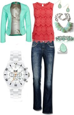 Work outfit via Fashionista Trends Beauty And Fashion, Look Fashion, Passion For Fashion, Spring Fashion, Trendy Fashion, Green Fashion, Mode Outfits, Casual Outfits, Fashion Outfits