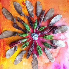 Post image for Monday Mandala #6 {flower power}