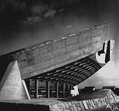 Cultural centre by Kenzo Tange