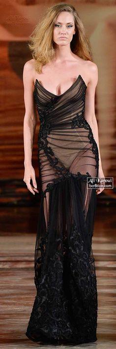 Ali Karoui Fall 2014-15 Couture