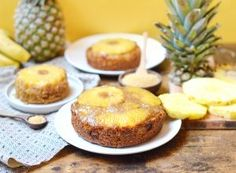 Muffins vegan et sans gluten aux poires - Sweet & Sour Vegan Pancakes, Batch Cooking, Lactose Free, Granola, Bakery, Vegan Recipes, Cheesecake, Food And Drink, Sweets