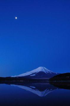 Mt. Fuji, Japan by cathy