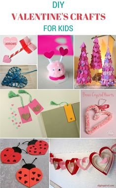 DIY Valentine's Crafts For Kids