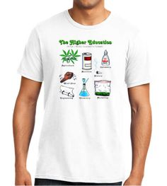The High-er Education What I Really Learned In School T-shirt