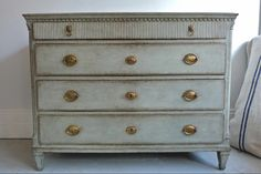 Swedish Gustavian Style Antique Chest