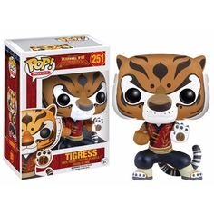 This is a Kung Fu Panda POP Tigress Vinyl Figure that is made by Funko. Recommended Ages: Condition: Brand New and Sealed Dimensions: X 1 Kung Fu Panda POP Tigress Vinyl Figure Disney Pop, Funk Pop, Pop Vinyl Figures, Tous Les Disney, Tigress Kung Fu Panda, Funko Pop Dolls, Pop Figurine, Funko Figures, O Pokemon