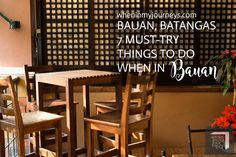 Bauan, Batangas: 7 Must-Try Things To Do When in Bauan
