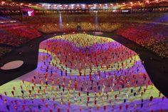 47 pensamentos que tivemos durante a cerimônia de abertura das Olimpíadas