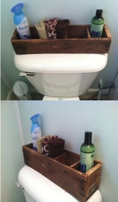 Bathroom storage..how about old sewing machine drawer?