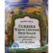 Trader Joes Curried White Chicken Deli Salad copycat recipe