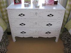 Chalk Paint Dresser...