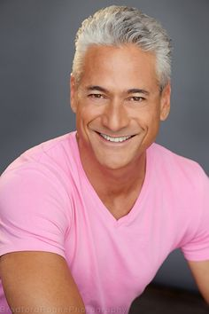 Greg Louganis | Headshot Photographed in Los Angeles by Bradford Rogne. http://www.RognePhoto.com