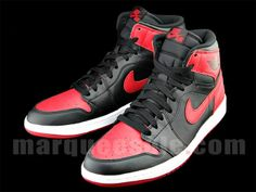 #airjordan 1 I OG high bred #sneakers cant go wrong with the bred 1's