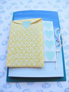 Beach wedding card package by Mino Paper Sweets