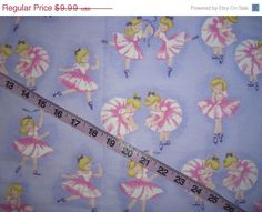 Hey, I found this really awesome Etsy listing at https://www.etsy.com/jp/listing/211631845/flannel-fabric-with-ballet-ballerina