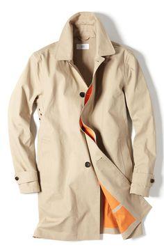 Jack Spade Bonded Raincoat Mode Homme, Haute Couture, Du Cuir Et Des Hommes, f14baa008f4f