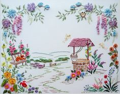 The Brazilian Dimensional Embroidery Guild, www.BDEIG.org , each yearasksmembers to vote on a Flower of the Year and a Theme for the com...