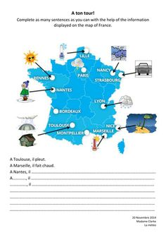 To Learn French Kids Printing Videos Texture Key: 3787659919 High School French, French Kids, French Verbs, French Teaching Resources, Teaching French, French Lessons, English Lessons, Learning French For Kids, French Worksheets