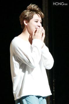 [HQ PICS] 150806 Kim Junsu during musical 'Death Note' Curtain Call (8 PM performance)