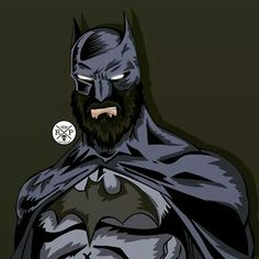 Beard Batman