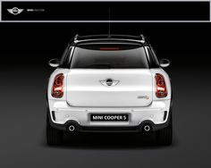 A Mini Cooper was my first car I drove... and I just love these new Countryman S models! <3