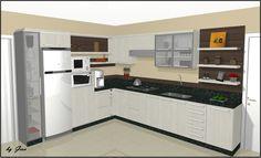 Projeto de Cozinha em L