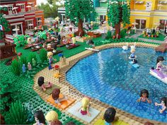 LEGO Friends: Rainbow Holiday Center | Built for exhibition … | Flickr