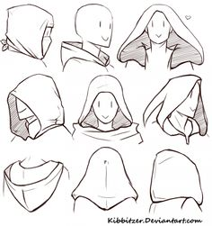 Hoods reference sheet