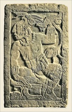 Mayan Relief; idea for a relief art lesson?!