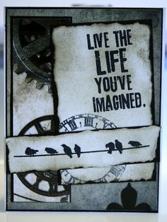 Tim Holtz - Birthday Card