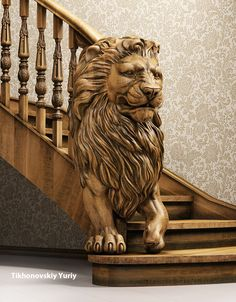 Having a Sculpture on your stairs look really amazing, are you looking forward to get this on your stairs in your dream home? Check out& The post Stairs with Sculpture Design appeared first on Engineering Basic. Escalier Art, Escalier Design, Wood Carving Art, Wood Art, Art Sculpture, Sculptures, Sculpture Ideas, Sculpture Garden, Stair Railing Design