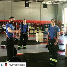TRAIN HARD DO WORK IT WAS AN INCREDIBLE HONOR to be placed on a pedestal and put cardiac related LODDs at the forefront of the community in Lenoir NC. Not only that  but it was hosted in a working Firehouse that ran about a dozen calls it felt like. Thank you Cory Derrick and Wes Lail.  FROM @revfive5fitness_boone @revfive5fitness  These three guys worked very hard over the last few months and I am so proud of the amazing turn out we had at the Line of Duty Throwdown. This was a very…