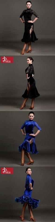 Ballroom 152361: New Latin Salsa Tango Cha Cha Rumba Ballroom Dance Dress Top And Skirt #Gb013+014 -> BUY IT NOW ONLY: $73.99 on eBay!