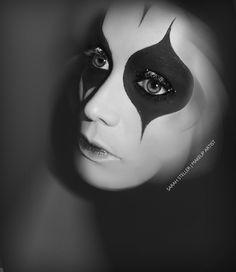 Theatrical Makeup | Circus by Sarah Steller