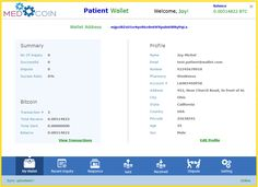 Medcoin   Doctor patient relationship  Medcoin is a revolution in the Doctor-patient relationship. It is a Paradigm Shift in healthcare.  Thru bitcoin, keep all of your medical records confidential AND TREATMENT outside of government survalence.   You can pay for treatment without anyone knowing about the treatments. Because the payments for the treatment is anonymous thru bitcoin and because you keep ALL of yur records, No one, including the government or courts will have awareness or…